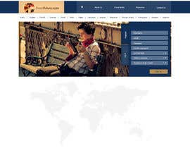#7 for http://www.fluentfuture.com/ - language exchange home page design af minimani