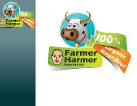 nº 13 pour Logo Design for Farmer Harmer Grass Fed Beef par rjanu
