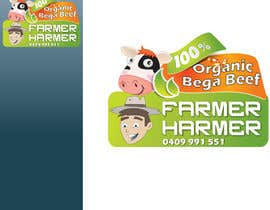 nº 18 pour Logo Design for Farmer Harmer Grass Fed Beef par rjanu
