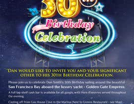 #35 cho Design a 30th Birthday Invite bởi kunjanpradeep