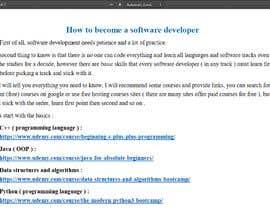 "#23 untuk Plan a strategy ""how to learn a software programming"" oleh AliZainAli"