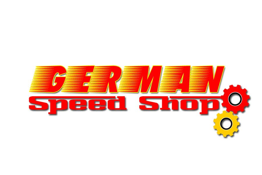 Inscrição nº 19 do Concurso para Logo design for the, German speed shop
