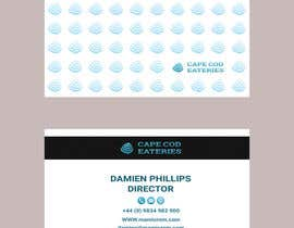 Almas999님에 의한 Business Card for Restaurant Business을(를) 위한 #260