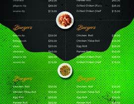 manishsankhyan01님에 의한 menu design을(를) 위한 #8