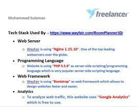 #12 for Research the Tech Stack of this Web App by MSulyman