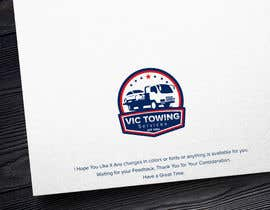 #90 for Vic Towing Logo by MAHMOUD828