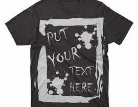 #82 para design t-shirt templates for personalized text shirts de alihaskara