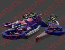 Nro 28 kilpailuun Drone for cargo/military appliances käyttäjältä PROAnimations3D