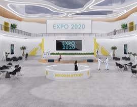 #15 for Design a Lobby/Reception area for a Virtual Event Platform by EstebanDeLuca