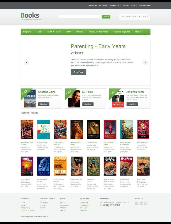 Konkurrenceindlæg #                                        13                                      for                                         Website Design for Children Books Business