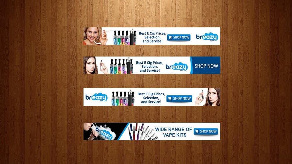 """Intrarea #11 pentru concursul """"Design a Banner for Breazy.com -- 3"""""""