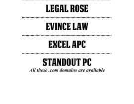 #96 untuk Help choose a name for a Law Firm oleh PaleRiderShovon