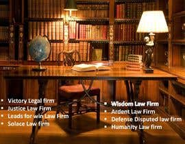 #76 untuk Help choose a name for a Law Firm oleh mdkolimullah46