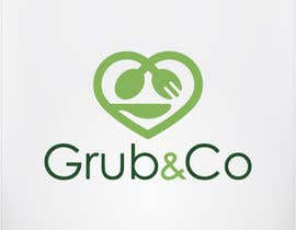 "GraphicOnline tarafından Design a Logo and packaging sleeve for ""GRUB & CO"" için no 30"