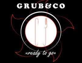 "#4 for Design a Logo and packaging sleeve for ""GRUB & CO"" by antoniosmaher"