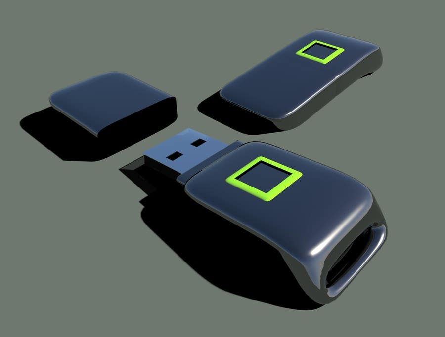 Contest Entry #13 for 3D Design of USB Thumb Drive Enclosure