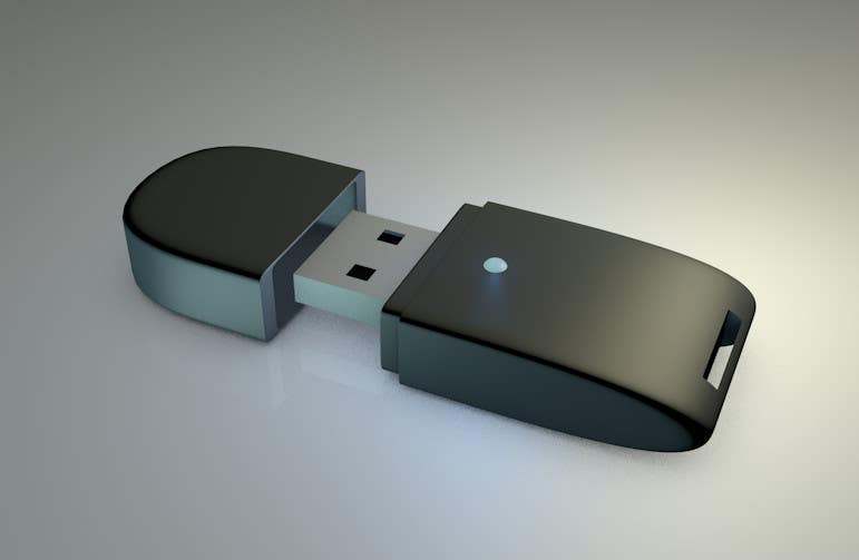 Contest Entry #1 for 3D Design of USB Thumb Drive Enclosure