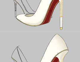 #63 for Design the high heel part of a shoe in 2D or 3D by gonzalitotwd