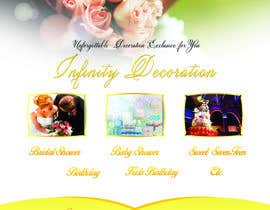 #23 untuk Design a Flyer for Wedding and Party consultants oleh joosuedi