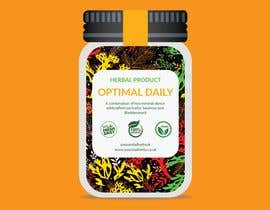 #9 for Design Product Label for a Jar (Herbal Company) by tanverahmed93