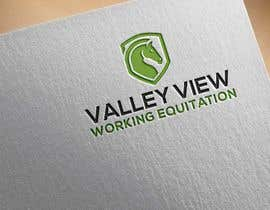 #9 for Valley view working equitation  needs a logo. VVE is the aim so the Vs become the w also. We love the gold horse design but need ears facing forward so happy horse. Club colours are emerald gold, navy and silver. by mnahidabe