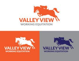 #12 for Valley view working equitation  needs a logo. VVE is the aim so the Vs become the w also. We love the gold horse design but need ears facing forward so happy horse. Club colours are emerald gold, navy and silver. by swapnamondol105