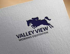 #13 for Valley view working equitation  needs a logo. VVE is the aim so the Vs become the w also. We love the gold horse design but need ears facing forward so happy horse. Club colours are emerald gold, navy and silver. by swapnamondol105