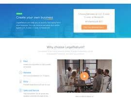 #12 untuk Build a Home Page Design oleh nasima07