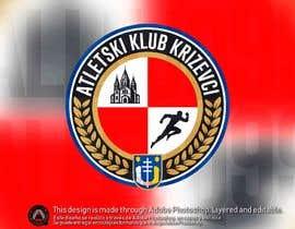 #29 für Track and field club modern logo design von allejq99