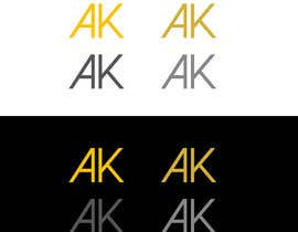 #117 for I need a simple and elegant looking logo that consists only of my initials by RIakash