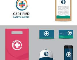 #9 for I want you to be creative with something that would look official and cool. You can experiment with or without the company name  ( Certified Safety Supply) or initials ( CSS ) it's up to you. Many combinations. Different styles or dimensions. by Sevket1
