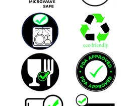 #6 for Create 8 food safe symbols for packaging by thebestcho1ce