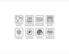 #31 untuk Create 8 food safe symbols for packaging oleh EditorVishal