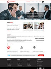 #28 untuk Design a Website for Actegy Consulting oleh kreativeminds