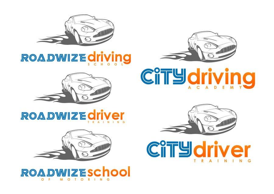 Kilpailutyö #                                        14                                      kilpailussa                                         Logo Design for Driving School in UK