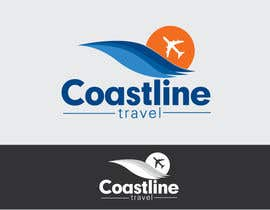 #159 para Logo Design for Coastline Travel por jhonlenong