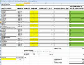 #9 for excel spread sheet by Vikasg1