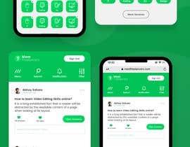 Nro 12 kilpailuun Web App UI UX makeover käyttäjältä jaykoiry