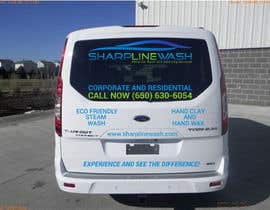#23 untuk Design graphic on a Cargo Van for my Car wash Business oleh emon356
