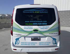 #22 for Design graphic on a Cargo Van for my Car wash Business by pladkani