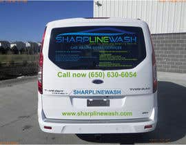 #19 untuk Design graphic on a Cargo Van for my Car wash Business oleh ibed05