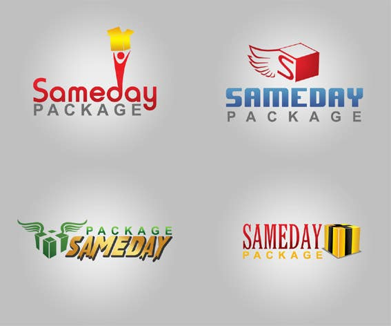 Contest Entry #1 for Ontwerp een Logo for SamedayPackage