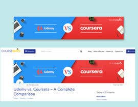 #23 for Banner Design for Blog Page (Udemy vs Coursera) - CourseDuck.com by sakibtherockboy