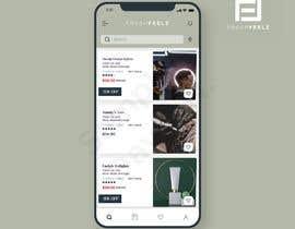 Nro 9 kilpailuun Design an App screen käyttäjältä Davente