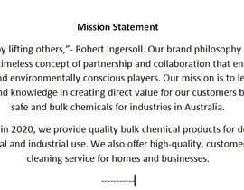 Nro 7 kilpailuun Setup a company mission statement & philosophy käyttäjältä jf2205noble