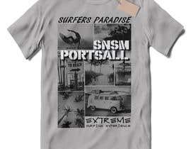 Nro 82 kilpailuun Design a vintage/retro surf style t-shirt käyttäjältä ASIRIdesign