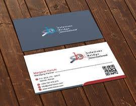 Nro 12 kilpailuun Edit colors and names of a Business Cards in Adobe Illustrator käyttäjältä flechero