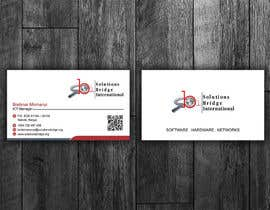 Nro 39 kilpailuun Edit colors and names of a Business Cards in Adobe Illustrator käyttäjältä flechero