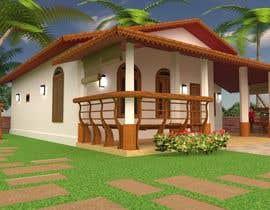 Nro 35 kilpailuun Exterior simple house 3D design (03 views) käyttäjältä divpa1992