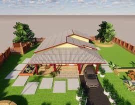Nro 31 kilpailuun Exterior simple house 3D design (03 views) käyttäjältä Ifritbristy